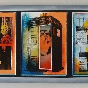 (CreativeWork) Whoops they did it again ( DR WHO SERIES ) by Sean McGovern. mixed-media. Shop online at Bluethumb.