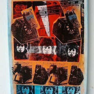(CreativeWork) K9er ( DR WHO SERIES ) by Sean McGovern. mixed-media. Shop online at Bluethumb.