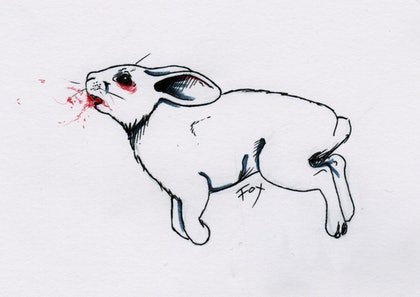 (CreativeWork) Vermin by Jema Griffiths. drawing. Shop online at Bluethumb.