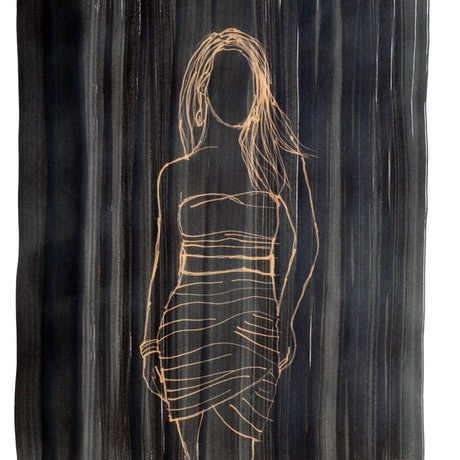 (CreativeWork) Undefined woman by Rubén Hernández. Other Media. Shop online at Bluethumb.