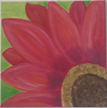 (CreativeWork) Flower Midst by Sri Bhargavi. arcylic-painting. Shop online at Bluethumb.