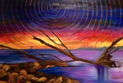 (CreativeWork) Outback by Neha Baid. oil-painting. Shop online at Bluethumb.