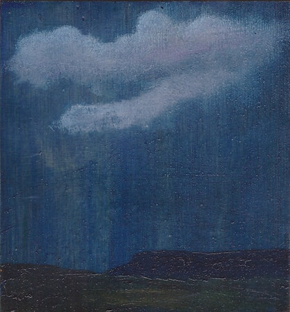 (CreativeWork) View south by Elric Ringstad. oil-painting. Shop online at Bluethumb.