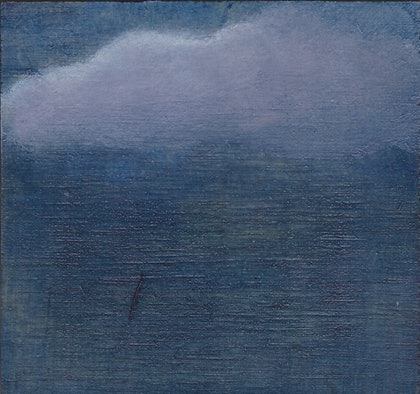 (CreativeWork) Over the beach by Elric Ringstad. oil-painting. Shop online at Bluethumb.