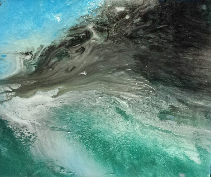 (CreativeWork) Lagoon by shannon knight. other-media. Shop online at Bluethumb.