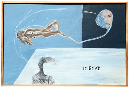 (CreativeWork) Le Reve by Kris Klein. other-media. Shop online at Bluethumb.