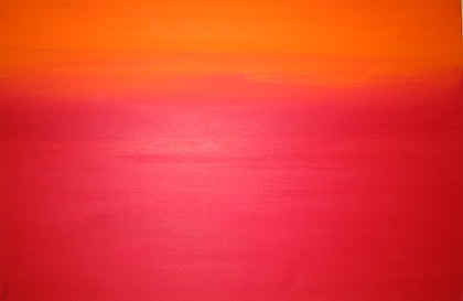(CreativeWork) Red Sky by Pooneh Aoun. arcylic-painting. Shop online at Bluethumb.