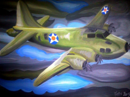 (CreativeWork) To War We Go by Matilda Driscoll. arcylic-painting. Shop online at Bluethumb.