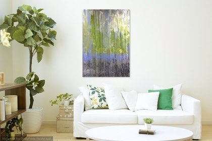 (CreativeWork) Growing by Tony Sutherland. arcylic-painting. Shop online at Bluethumb.