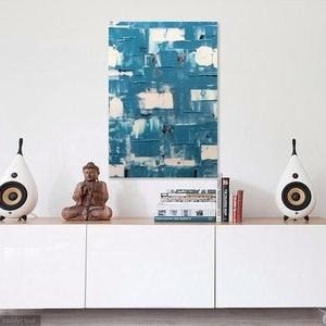 (CreativeWork) Tile by Antony Sutherland. arcylic-painting. Shop online at Bluethumb.