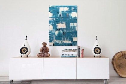 (CreativeWork) Tile by Tony Sutherland. arcylic-painting. Shop online at Bluethumb.