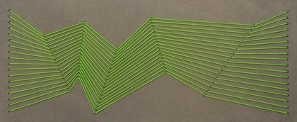 (CreativeWork) Green Transitions by Simon Wilson. mixed-media. Shop online at Bluethumb.