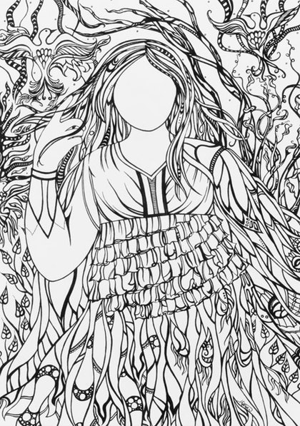 (CreativeWork) Wings by Jennis Ardern. drawing. Shop online at Bluethumb.