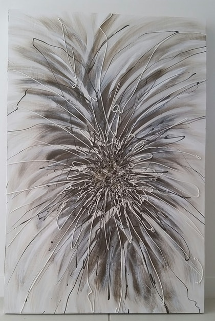 "(CreativeWork) ""Windswept"" by Liz Halley. arcylic-painting. Shop online at Bluethumb."