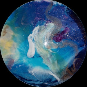 (CreativeWork) OURANOS by Jenny Dumont. resin. Shop online at Bluethumb.