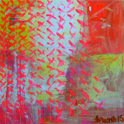 (CreativeWork) Butterflies by Alexandra Palombi. arcylic-painting. Shop online at Bluethumb.