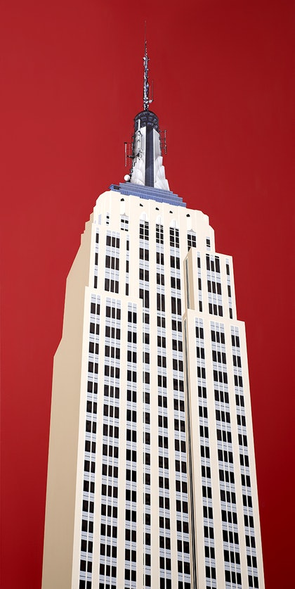 (CreativeWork) EMPIRE STATE by RODDY KERR. print. Shop online at Bluethumb.