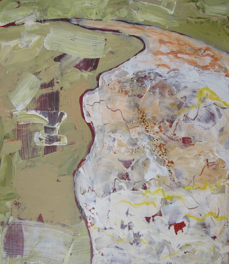 (CreativeWork) Lake Eyre 1 by Jan Farrell. Acrylic Paint. Shop online at Bluethumb.