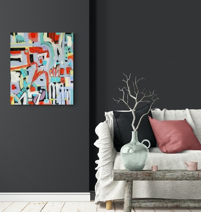 (CreativeWork) 'Not Quite Sydney' by natalie green. Mixed Media. Shop online at Bluethumb.