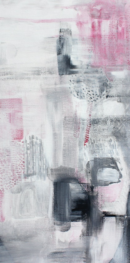 (CreativeWork) Rain by Kirsty Chisholm. arcylic-painting. Shop online at Bluethumb.