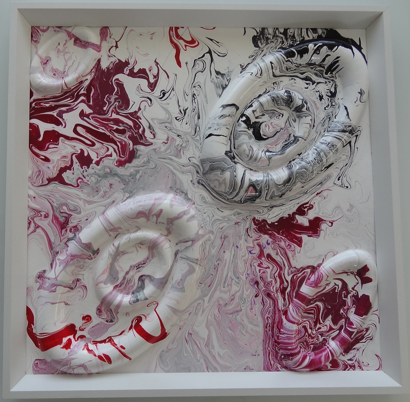 (CreativeWork) Pink Lake Series : Beautiful Wonder by Eren Y. drawing. Shop online at Bluethumb.