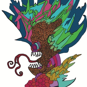 (CreativeWork) plant infestation Ed. 8 of 8 by lana hayward. print. Shop online at Bluethumb.