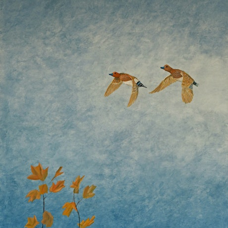 (CreativeWork) Together by Barry Johnson. Acrylic Paint. Shop online at Bluethumb.