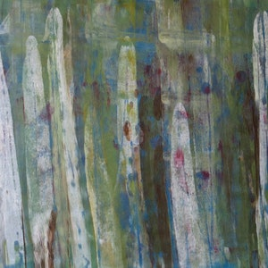 (CreativeWork) Silver Forest - NOT FOR SALE by Susanne Tester. arcylic-painting. Shop online at Bluethumb.