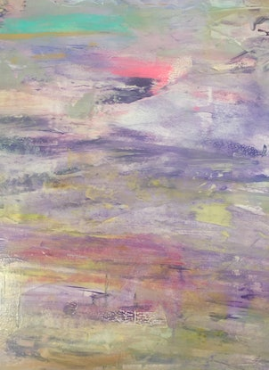 (CreativeWork) Jovian Storm by helene hardy. Acrylic Paint. Shop online at Bluethumb.