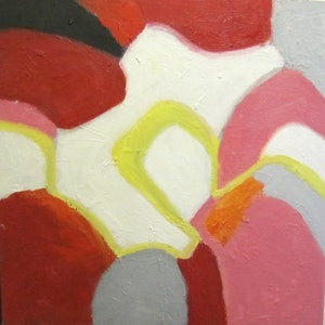 (CreativeWork) Carnivale by Julie Gough. oil-painting. Shop online at Bluethumb.