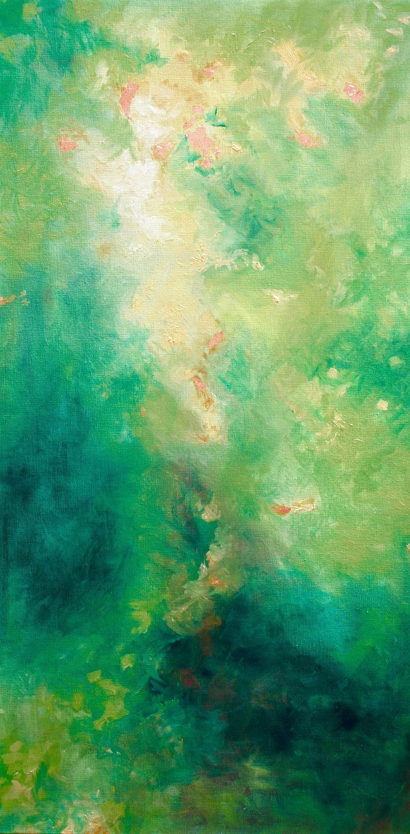 (CreativeWork) Leafy Dream by Cam McDonald. oil-painting. Shop online at Bluethumb.