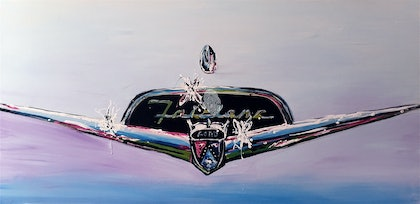 (CreativeWork) Fairlane by Cameron Gordon. arcylic-painting. Shop online at Bluethumb.