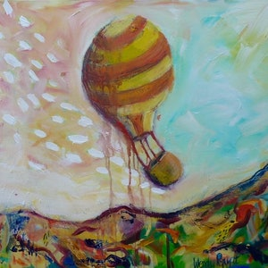 (CreativeWork) Finding yourself by Wendy Pepyat. arcylic-painting. Shop online at Bluethumb.