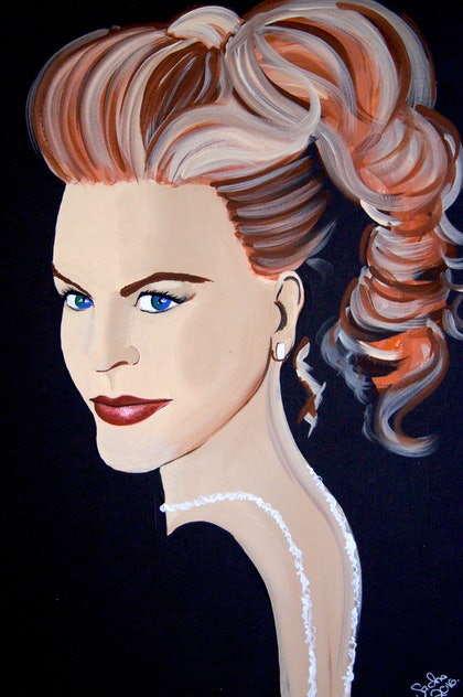 (CreativeWork) Elegance by Sacha Whitehead. arcylic-painting. Shop online at Bluethumb.