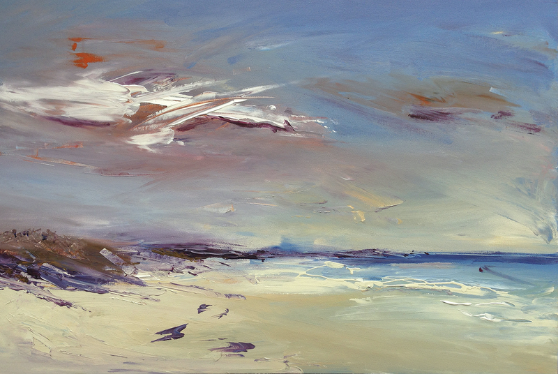 (CreativeWork) Coastal Series: Entrance 50 #1 by Michelle Wright. arcylic-painting. Shop online at Bluethumb.