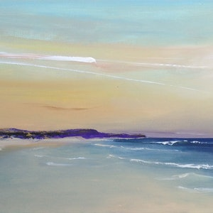 (CreativeWork) Coastal Series: Entrance 50 #3 by Michelle Wright. arcylic-painting. Shop online at Bluethumb.