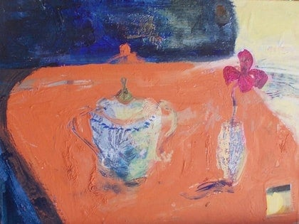 (CreativeWork) Still Life 1. by Adel Sainsbury. arcylic-painting. Shop online at Bluethumb.
