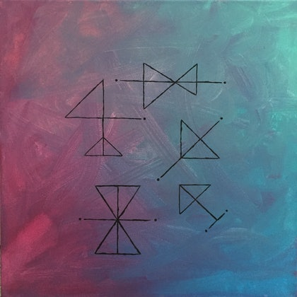 (CreativeWork) Take To The Skies by Jaquelin Jones. arcylic-painting. Shop online at Bluethumb.