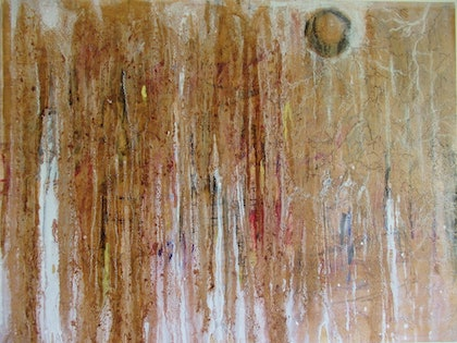 (CreativeWork) Untitled by Daniel Perry. arcylic-painting. Shop online at Bluethumb.