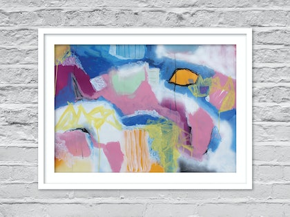 (CreativeWork) Attitude by Sioux Tempestt. mixed-media. Shop online at Bluethumb.