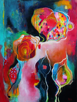 (CreativeWork) Hope Another Day by Brenda Mangalore. Acrylic Paint. Shop online at Bluethumb.