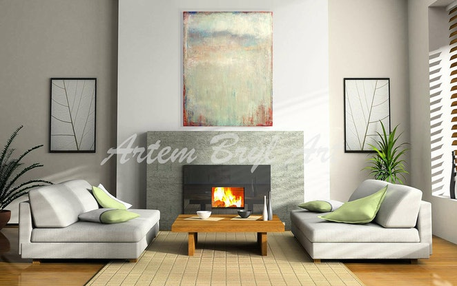 (CreativeWork) Sage by Artem Bryl. Acrylic Paint. Shop online at Bluethumb.