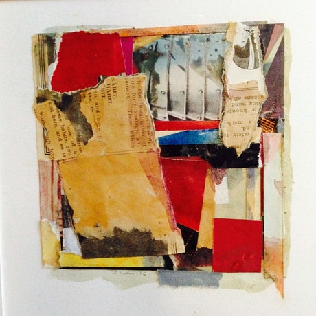 (CreativeWork) Roma 4 by Judy Silver. Mixed Media. Shop online at Bluethumb.
