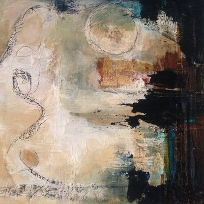 (CreativeWork) Summer Series #5 ( one of 6) by Sacha Pascalis. Mixed Media. Shop online at Bluethumb.