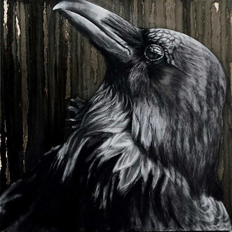 (CreativeWork) Nevermore, 3/50 by Karen Bloomfield. other-media. Shop online at Bluethumb.