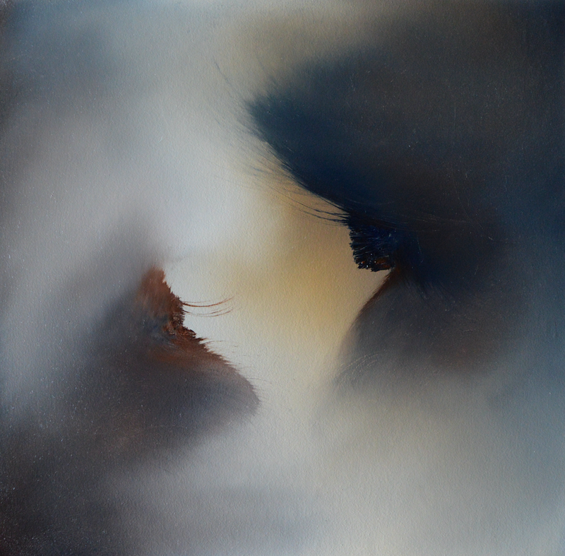 (CreativeWork) Shifting Relationships 2 by Elaine Green. oil-painting. Shop online at Bluethumb.