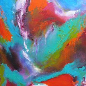 (CreativeWork) Palette II by monika alston. arcylic-painting. Shop online at Bluethumb.