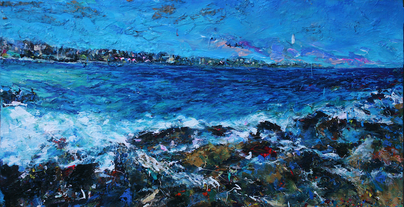 (CreativeWork) Bondi by tomas maceiras. arcylic-painting. Shop online at Bluethumb.