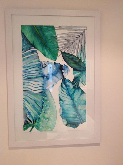 (CreativeWork) Untitled, Water colour on Paper by Tanya Darwin. arcylic-painting. Shop online at Bluethumb.