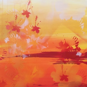 (CreativeWork) Summer sparkle by Samantha Tipler. arcylic-painting. Shop online at Bluethumb.